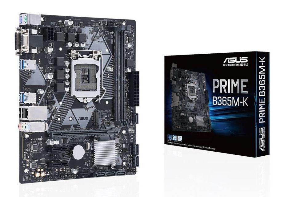 ASUS prezentuje pierwszą płytę główną z chipsetem Intel B365