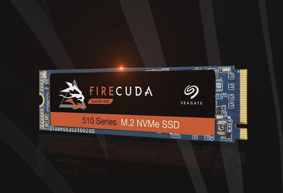 Seagate atakuje na rynku SSD - modele BarraCuda 510 i FireCuda 510