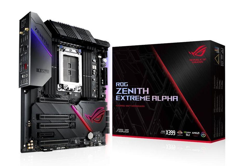 ASUS ROG Zenith Extreme Alpha - jeszcze lepsza płyta pod procesory Ryzen Threadripper