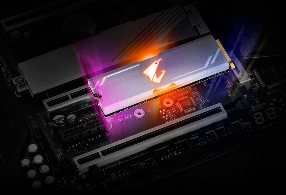 Aorus RGB NVMe SSD - dyski SSD z podświetleniem RGB LED