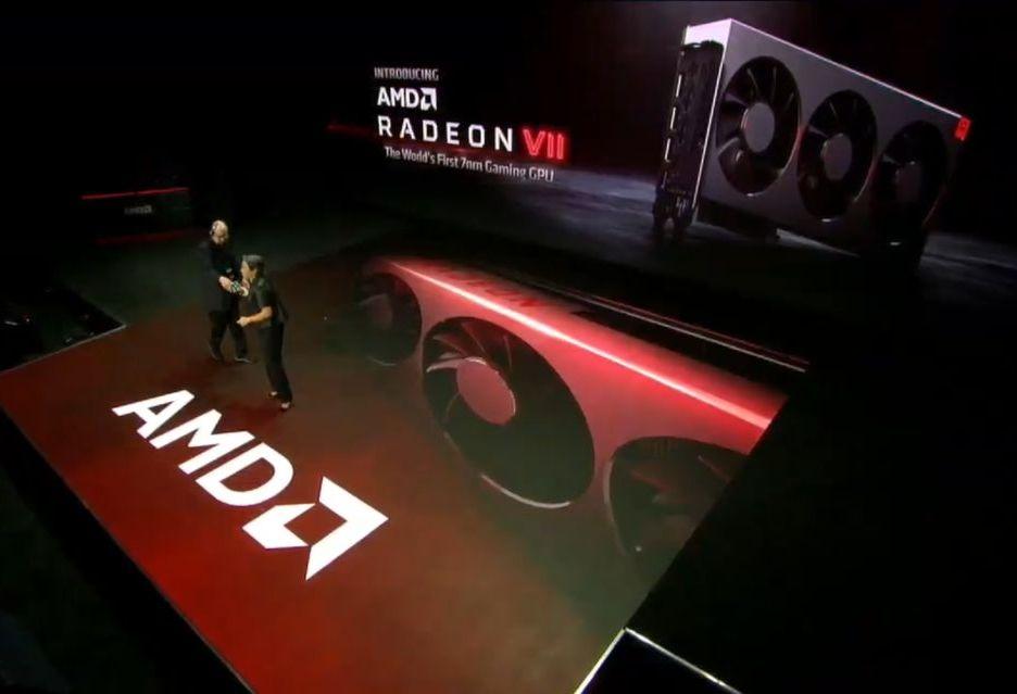 AMD prezentuje kartę Radeon VII - odpowiedź na GeForce RTX 2080
