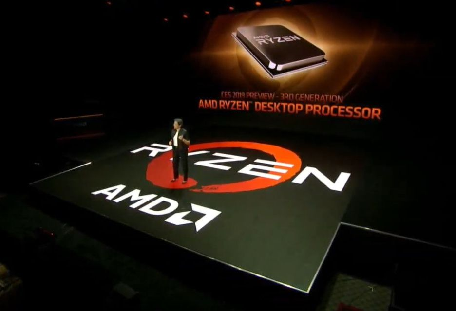 AMD zapowiada procesory Ryzen 3000 - Zen 2 to wzrost wydajności i... energooszczędności