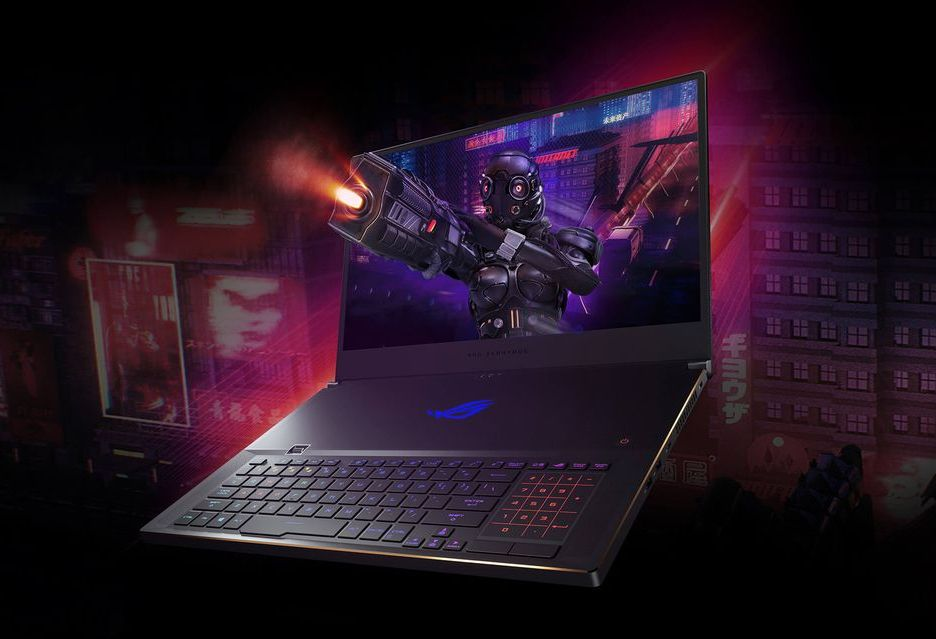 ASUS ROG Zephyrus S GX701 - odchudzony laptop do grania z GeForce RTX