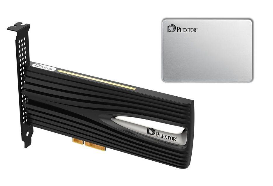 Plextor prezentuje nośniki M10Pe i M9V - nadchodzą nowe SSD