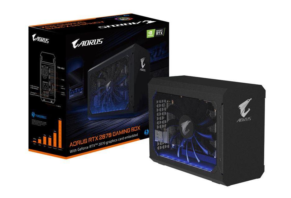 Aorus RTX 2070 Gaming BOX - przystawka z kartą RTX 2070 dla laptopów