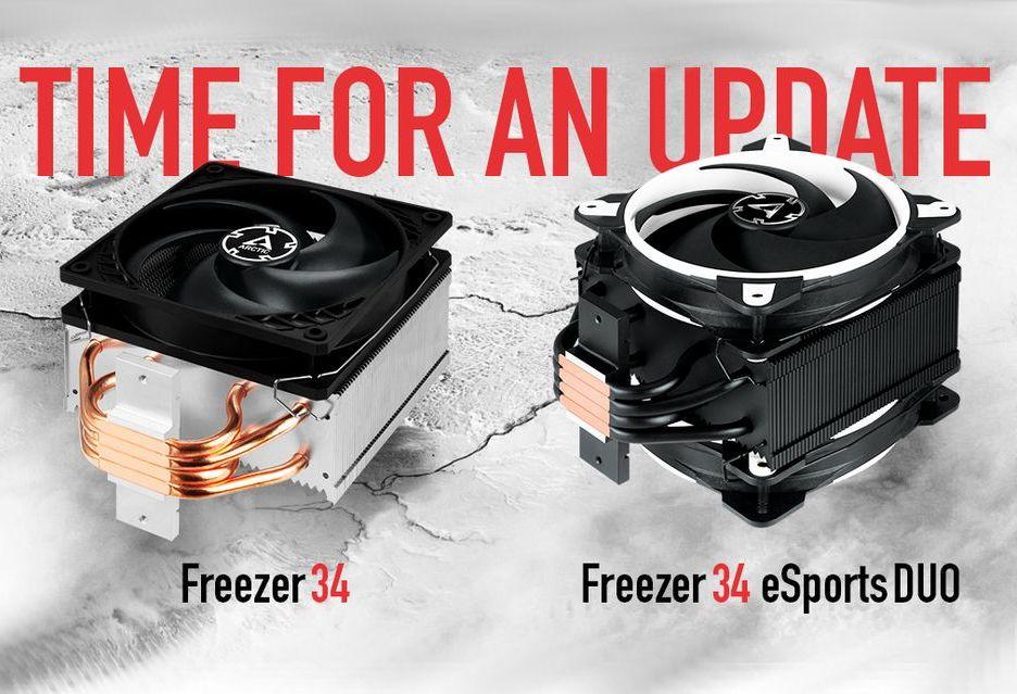Arctic Freezer 34 - usprawnione chłodzenie w czterech różnych wersjach