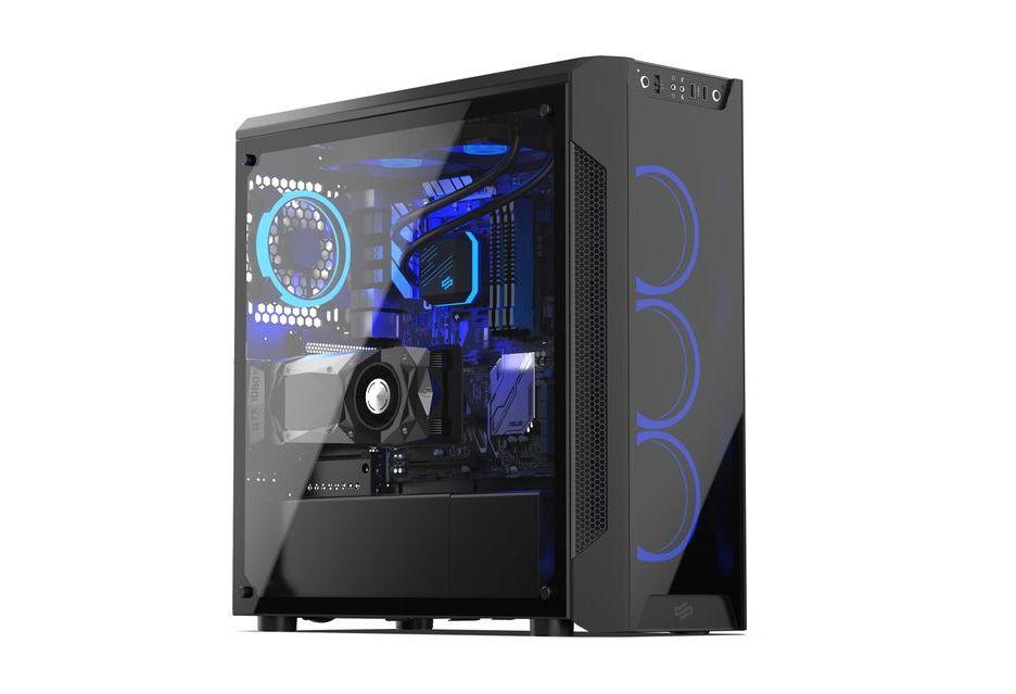 SilentiumPC Armis AR7X TG RGB - więcej szkła i podświetlane wentylatory
