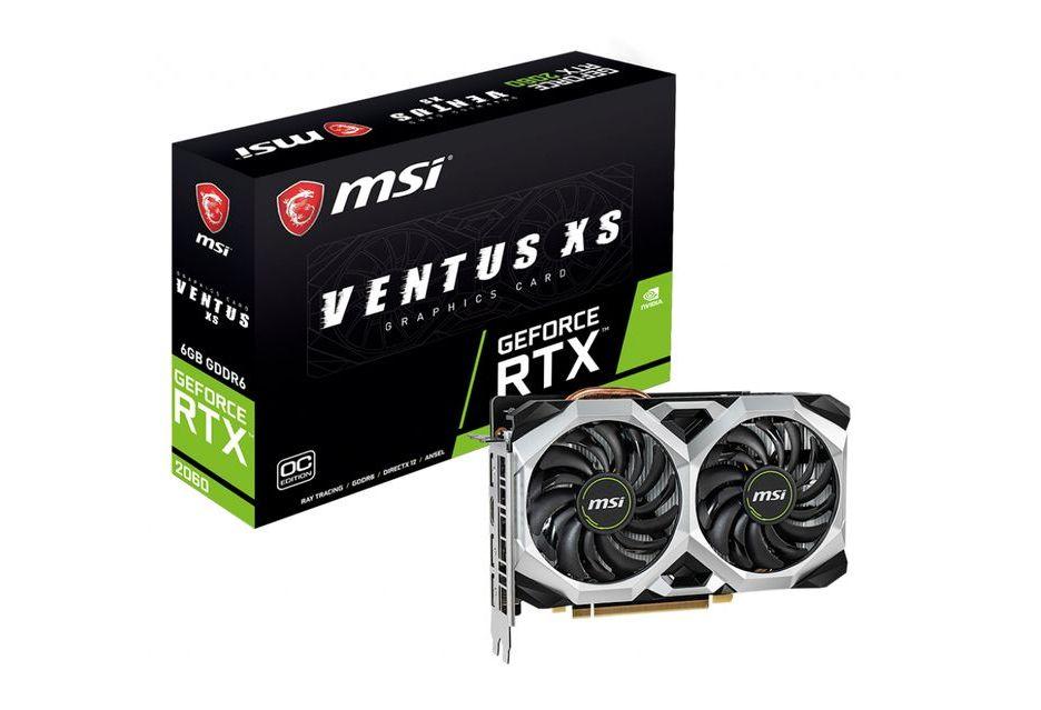 MSI GeForce RTX 2060 Ventus vs Ventus XS - czym różnią się karty?