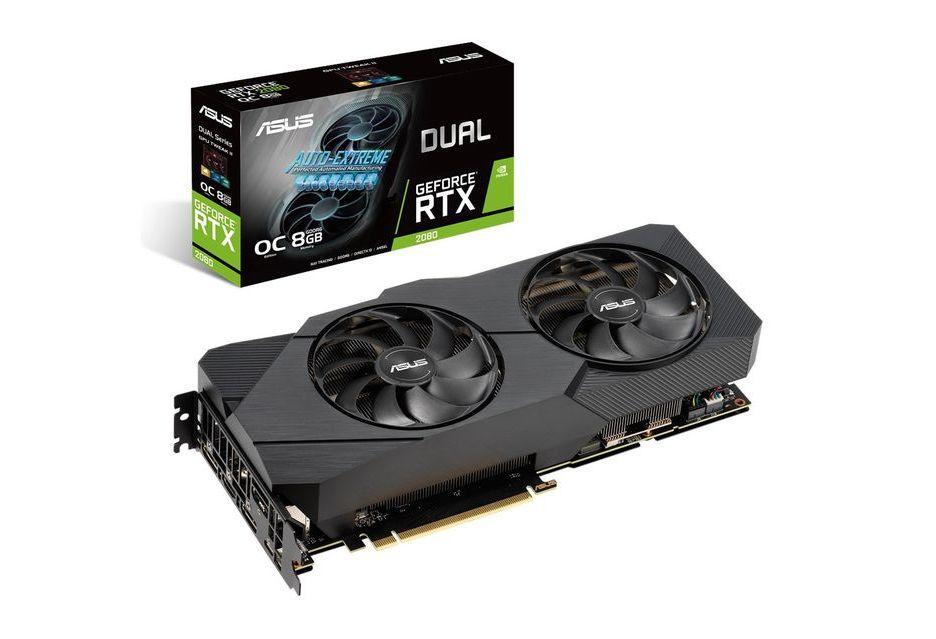 ASUS GeForce RTX 2080 w wersji Dual EVO - nowa karta wygląda interesująco