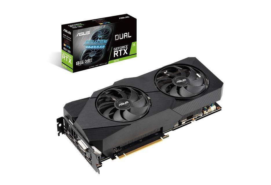 ASUS GeForce RTX 2070 w wersji Dual EVO
