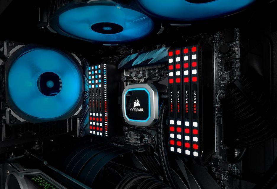 Corsair Dominator Platinum RGB - szybkie pamięci z innowacyjnym podświetleniem RGB