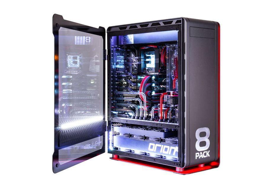 8Pack Orion X2 - tak wygląda komputer za 40 000 euro