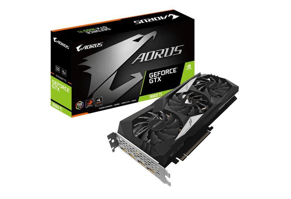 Gigabyte Aorus GeForce GTX 1660 Ti - topowa wersja karty z podświetleniem RGB