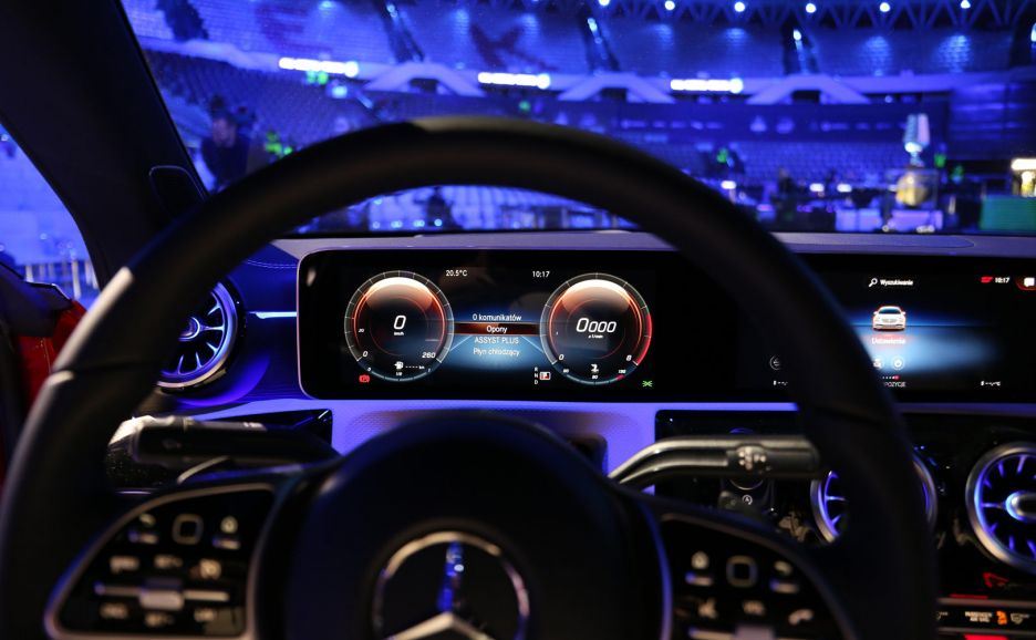 Mercedes-Benz CLA Coupé i inne atrakcje ESL One Katowice 2019 | zdjęcie 12