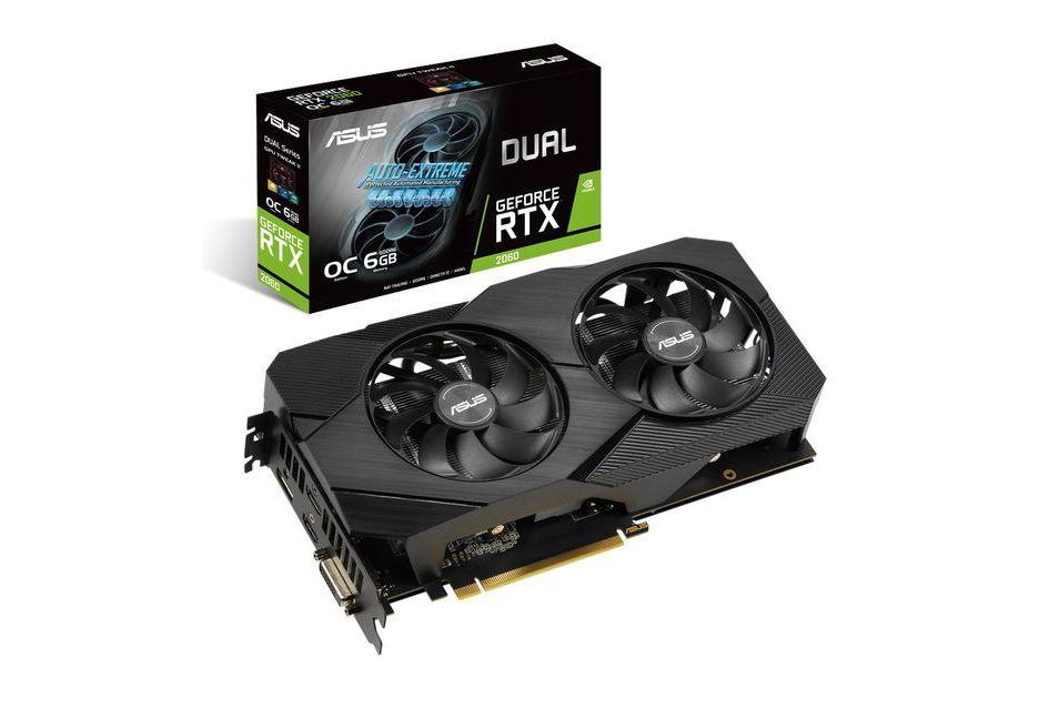 ASUS GeForce RTX 2060 w wersji Dual EVO - karta może się podobać