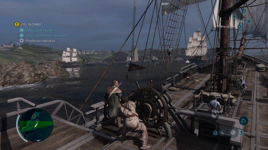 """Assassin's Creed III Remastered – oto jak zmieniła się """"trzecia"""" odsłona serii   zdjęcie 21"""