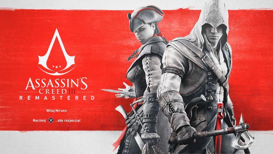 """Assassin's Creed III Remastered – oto jak zmieniła się """"trzecia"""" odsłona serii   zdjęcie 1"""