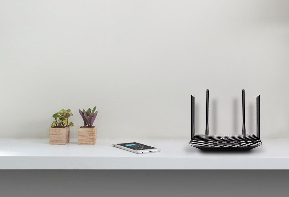 TP-Link Archer C6 - domowy router WiFi AC z MU-MIMO 2x2