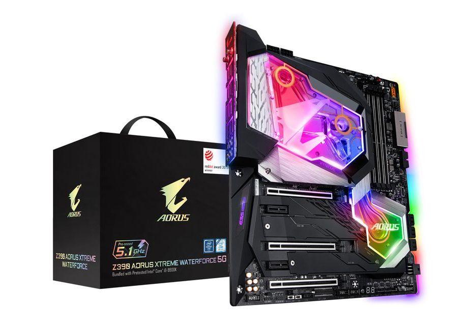 Gigabyte Z390 Aorus Xtreme WaterForce 5G - płyta w zestawie z