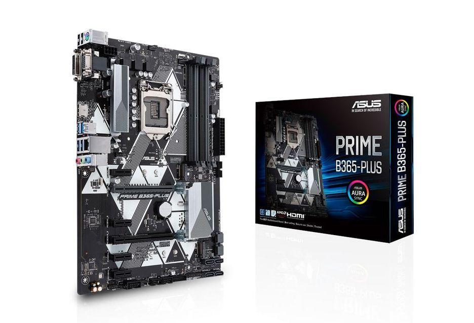 ASUS Prime B365-Plus - nowa płyta pod procesory Intel