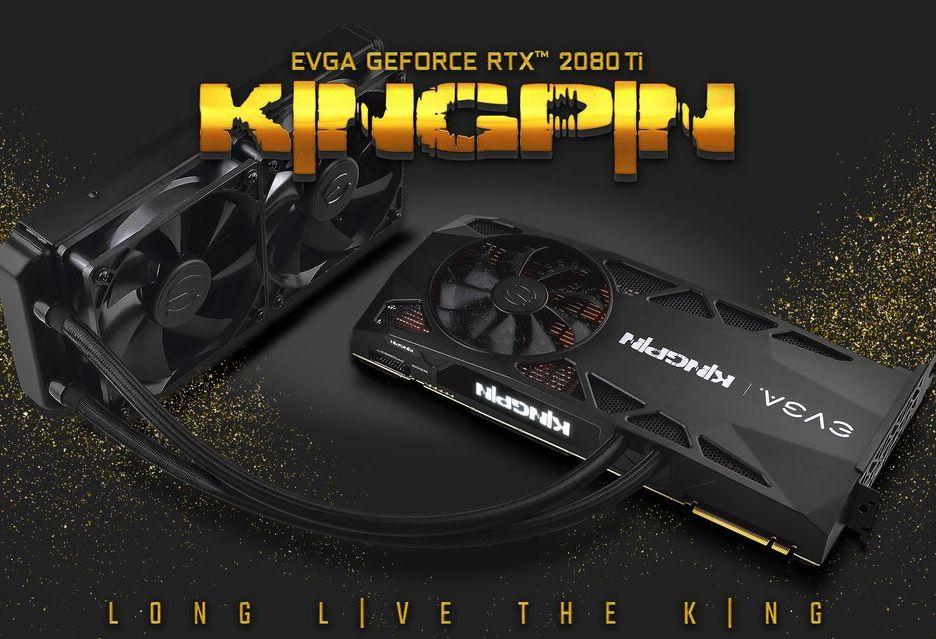 EVGA prezentuje GeForce RTX 2080 Ti K|NGP|N - karta marzenie dla overclockerów