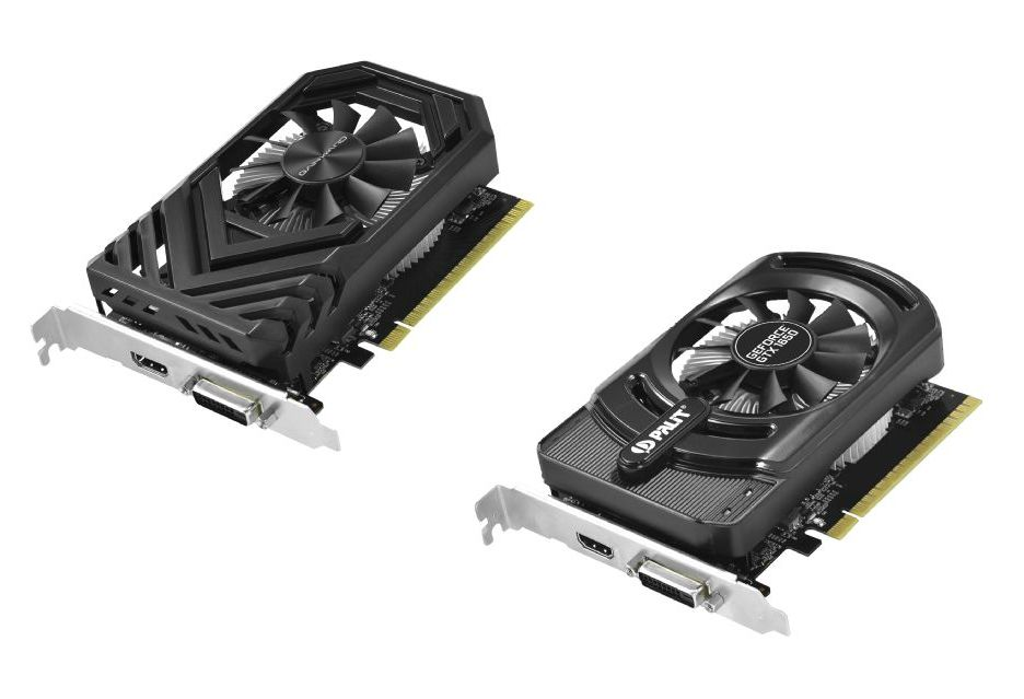 GeForce GTX 1650 - modele od Palit i Gainward