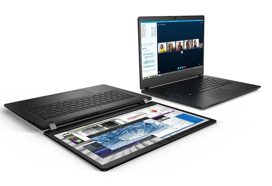 Acer TravelMate P614-51 - lekki, kompaktowy i funkcjonalny laptop biznesowy