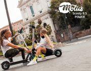 Hulajnoga elektryczna z wymiennym akumulatorem - Motus Scooty 8.5 Power