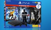SONY PlayStation 4 Slim 1TB + Ratchet & Clank + Uncharted 4: Kres Złodzieja + The Last of Us Remastered