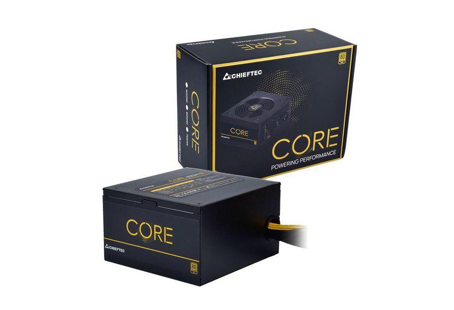 Chieftec Core - nieduże zasilacze z certyfikatem 80 PLUS Gold