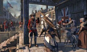 Assassin's Creed III gra pierwsze screeny ameryka USA