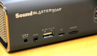 Creative Sound Blaster Roar głośnik porty
