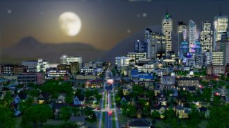 SimCity - screen