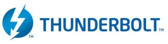 Intel Thunderbolt interfejs logo