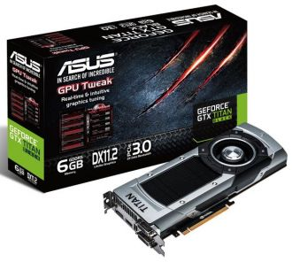 ASUS GeForce GTX Titan Black karta graficzna