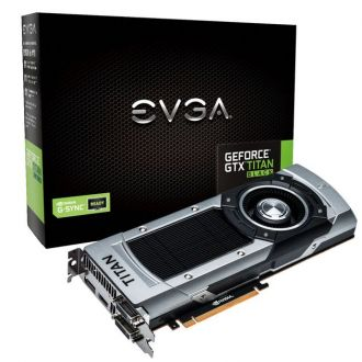 EVGA GeForce GTX Titan Black karta graficzna