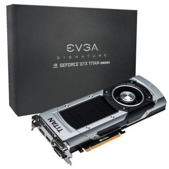 EVGA GeForce GTX Titan Black SC Signature karta graficzna