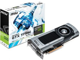 MSI GeForce GTX Titan Black karta graficzna