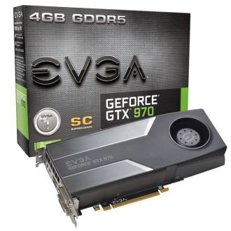 EVGA GeForce GTX 970 Superclocked karta graficzna