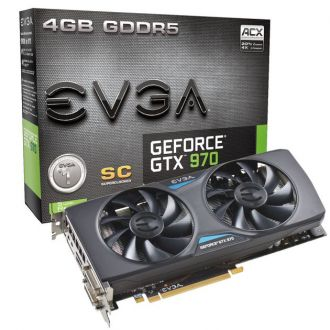 EVGA GeForce GTX 970 Superclocked ACX karta graficzna
