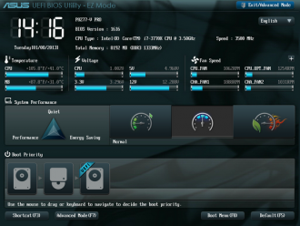 Bios Utility Ez Mode