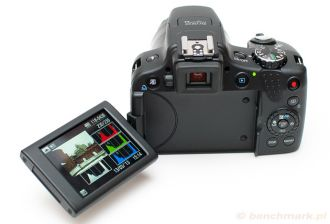 Canon Powershot SX50 HS odchylany LCD