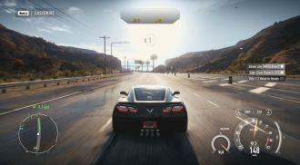 NFS Rivals - screen z gry