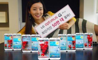 Lg Optimus G Pro Bardzo Dobre Wyniki Sprzedazy Smartfona W Korei Poludniowej