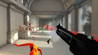 Superhot gra screen