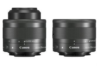Canon EF-M 28 mm f/3,5 mm Makro IS STM pionowo