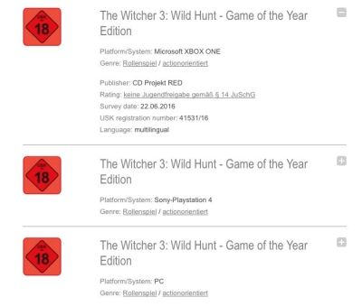 Wiedźmin 3: Dziki Gon - Game of the Year Edition