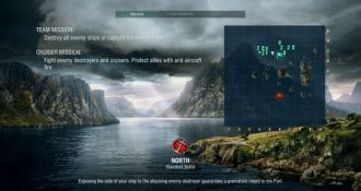 World of Warships – mapa