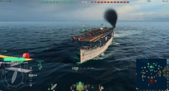 World of Warships – lotniskowiec