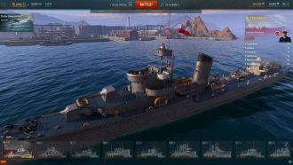 World of Warships - ORP Błyskawica